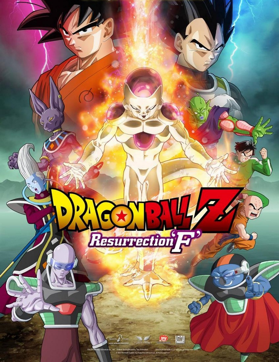 Dragon Ball Z : Resurrection F (2015) Bluray 720p Subtitle Indonesia