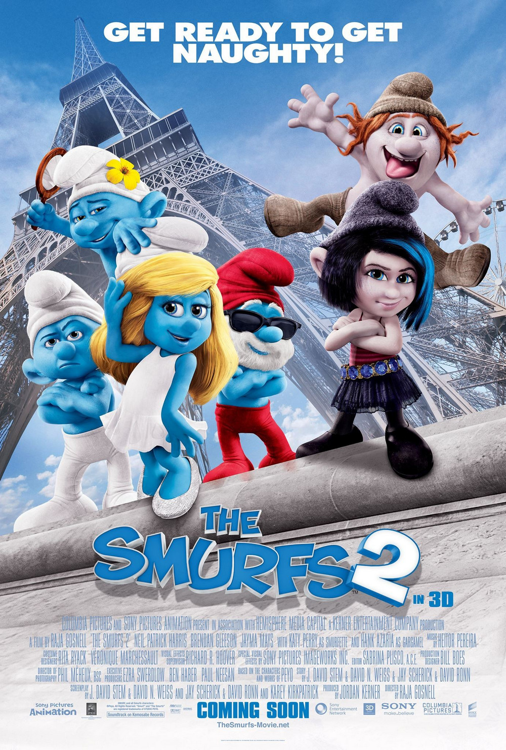 The Smurfs 2 เดอะ สเมิร์ฟ ภาค 2
