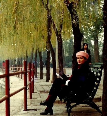 Beijing, China, marissa haque dan isabella fawzi