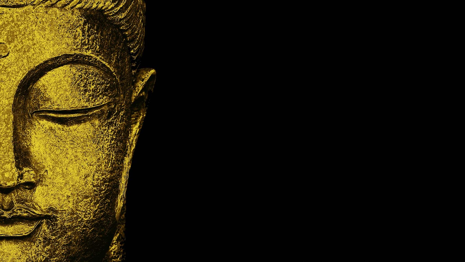 Buddha Quotes Online Lord Half Face Statue HD
