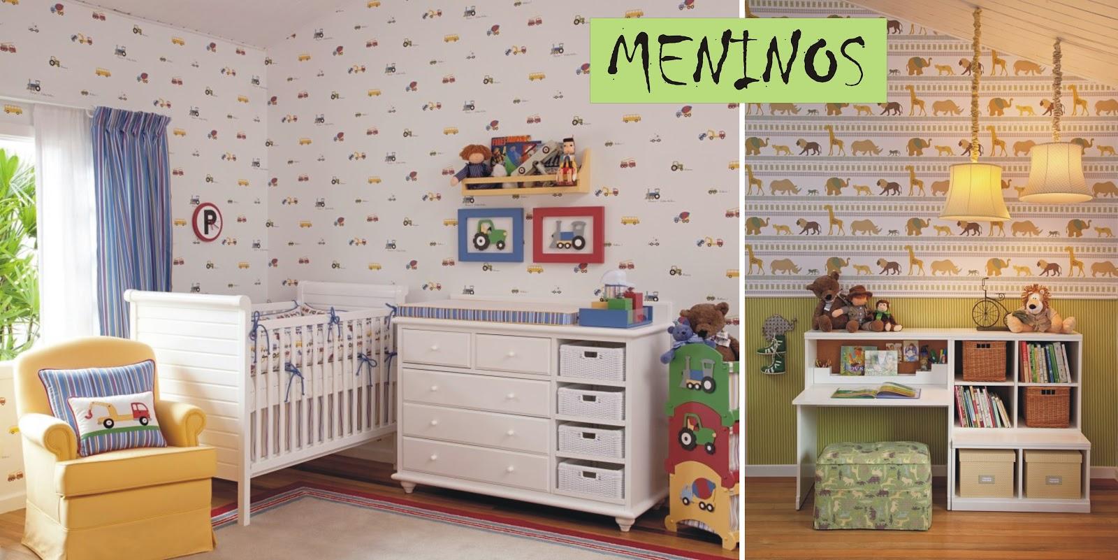 Espa o casa e moda quarto infantil papel de parede - Papel de pared infantil ...