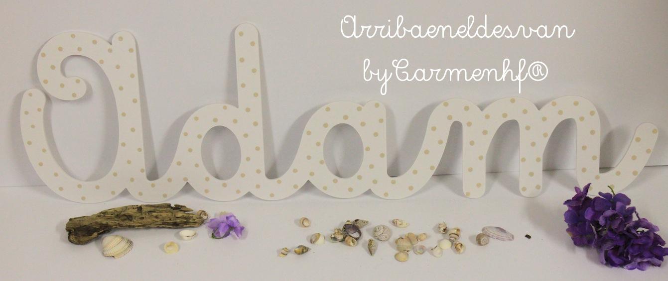 14 agosto silueta y letras para decorar paredes - Letras para decorar habitacion infantil ...