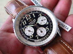 BREITLING NAVITIMER CHRONOGRAPHE TWIN SIXTY SERIE SPECIALE-REF A390221-24 HOURS INDICATOR-AUTOMATIC
