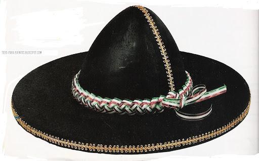 Como hacer un sombrero de mariachi en foami - Imagui
