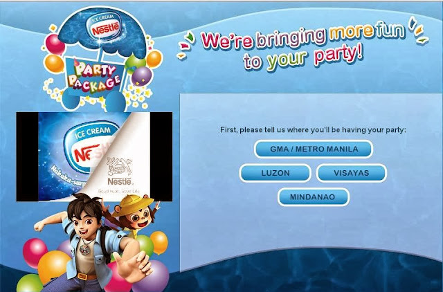 Nestle Ice Cream Party Package