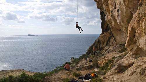 climbing in Malta and Gozo