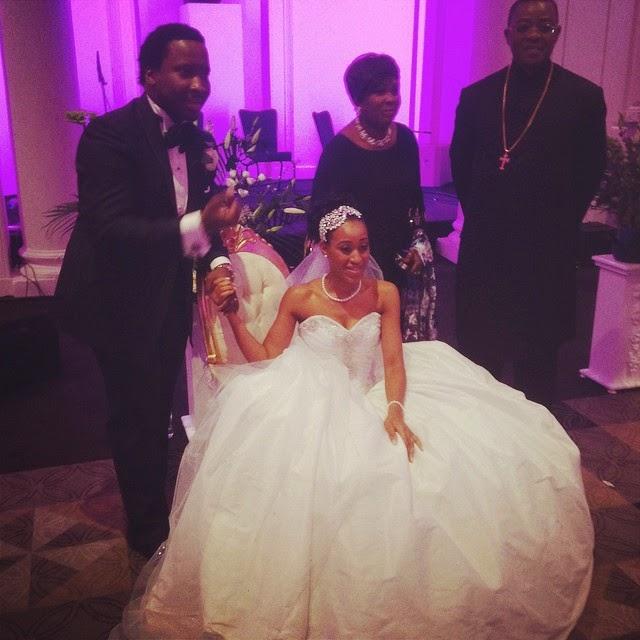 Sonnie Badu Wedding Cake
