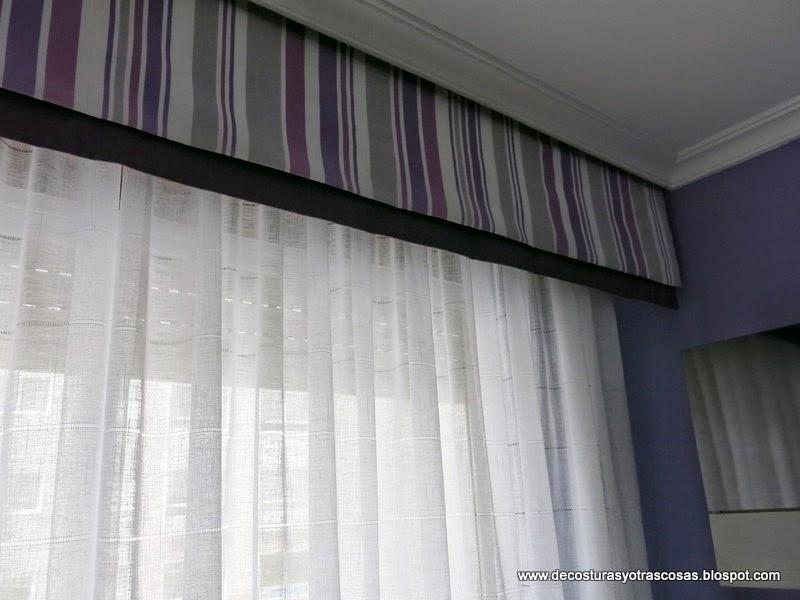 De costuras y otras cosas - Volantes de cortinas ...