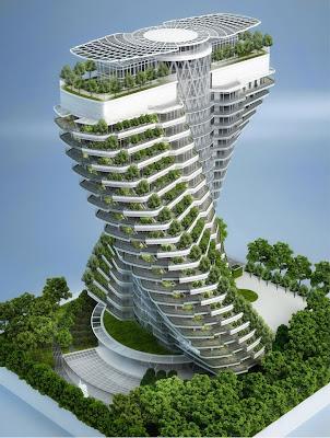 Agora Tower (maqueta), en Taipei (Taiwán)