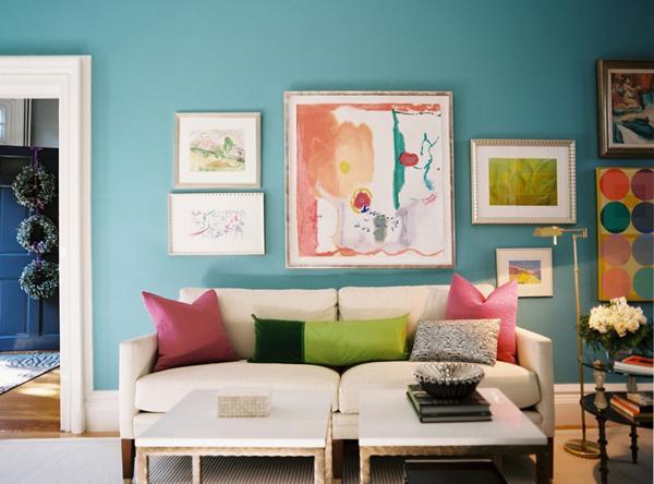 aksesoris minimalis memperindah ruang tamu lebaran 2014