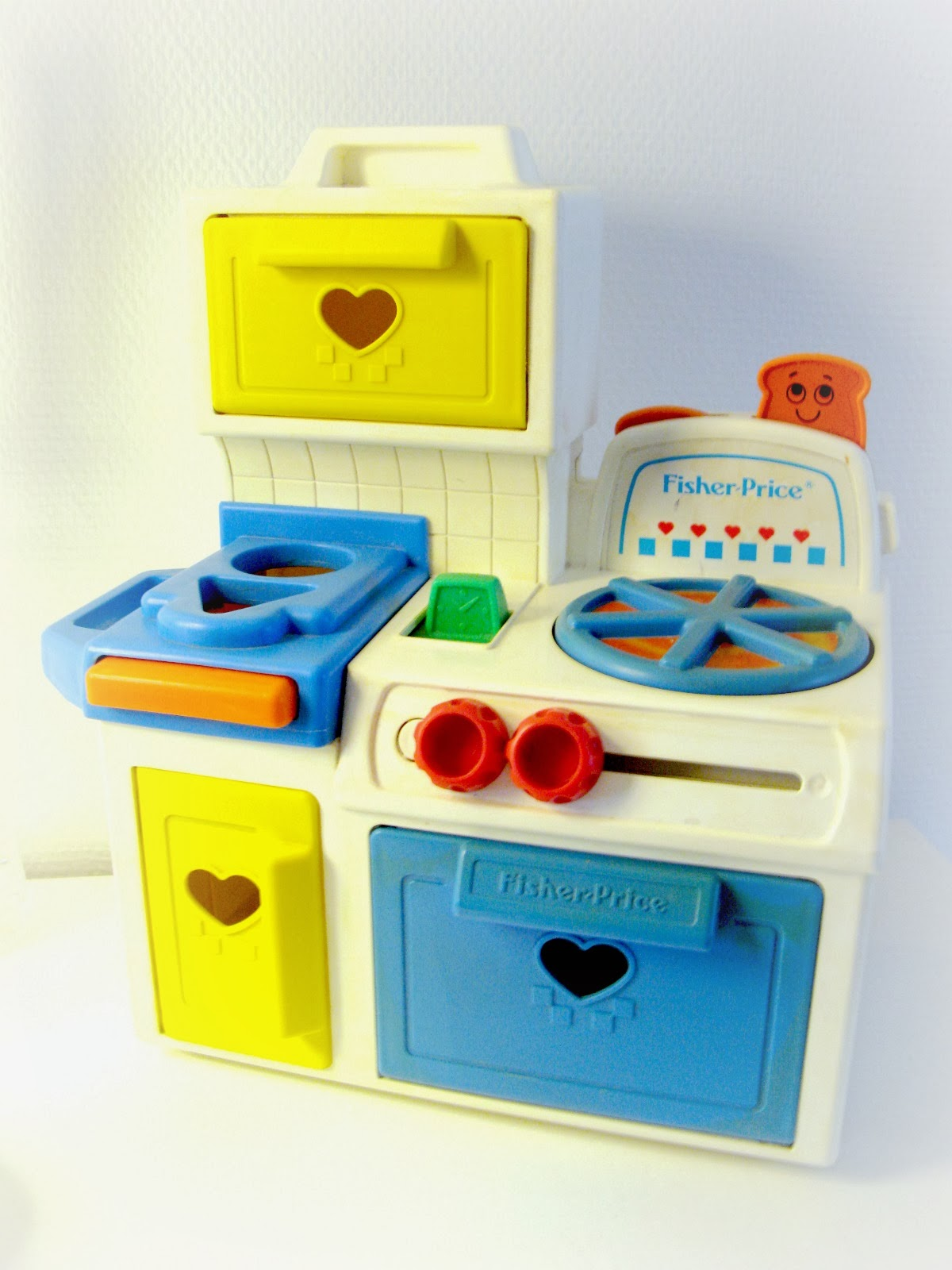 fisher price vintage kitchen. Black Bedroom Furniture Sets. Home Design Ideas
