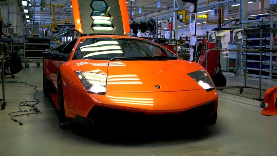 Yuk Lihat Proses Pembuatan Lamborghini Di Italia Dusewa