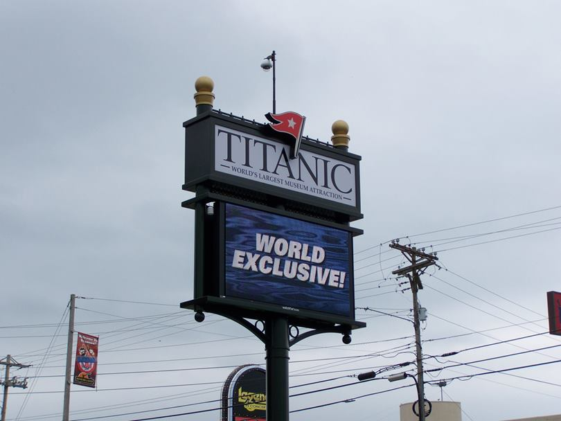 The Titanic Museum in Branson, Missouri