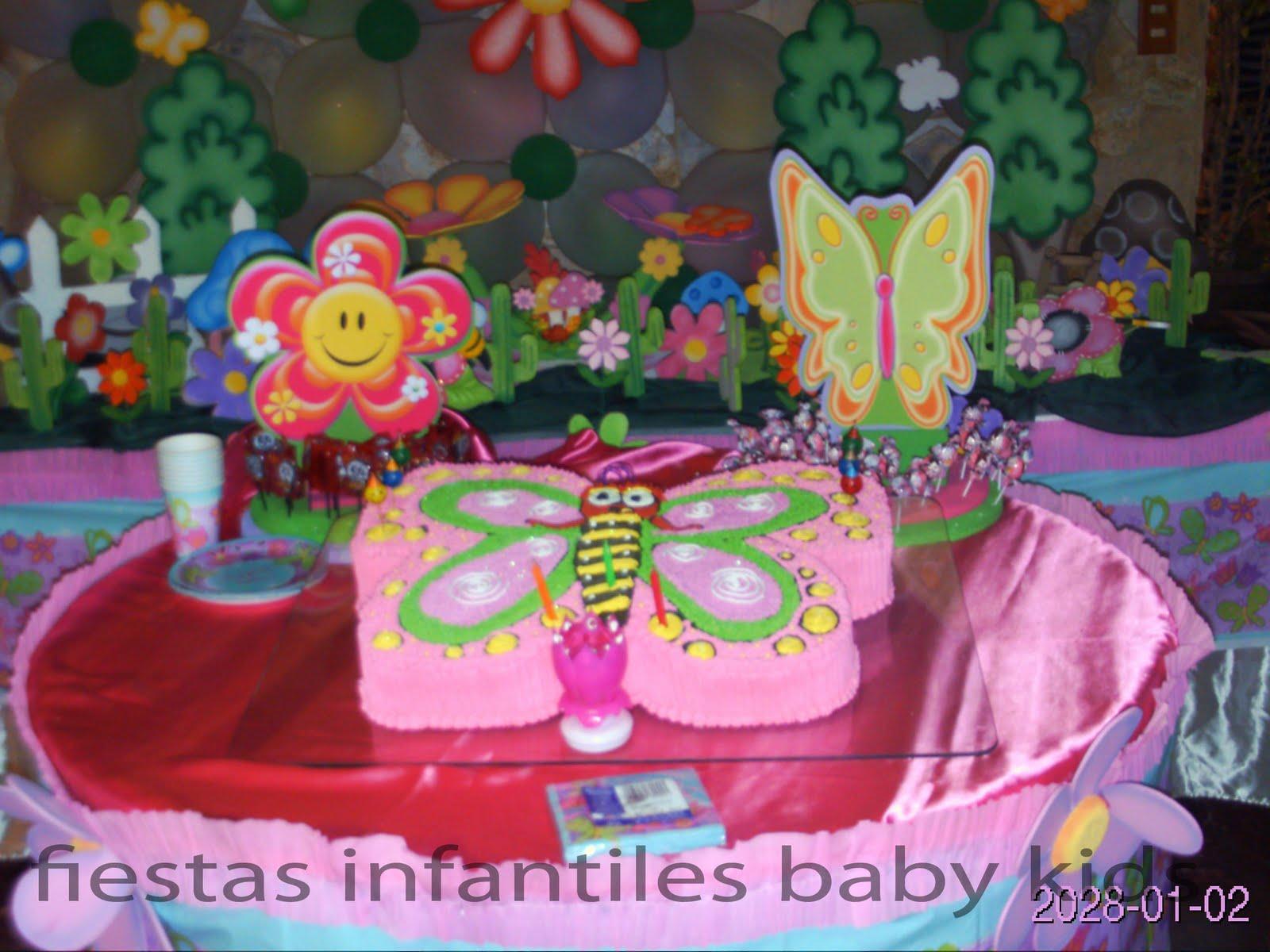 Decoracion fiesta de mariposas auto design tech - Decoracion fiesta infantil ...