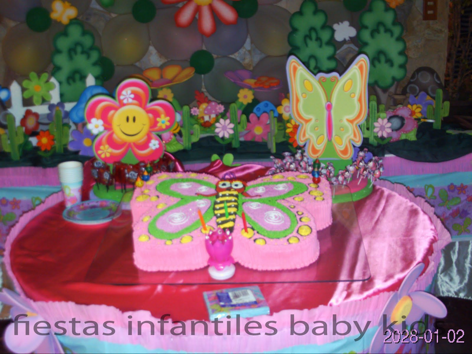 Decoracion fiesta de mariposas auto design tech - Decoracion de fiestas infantiles ...