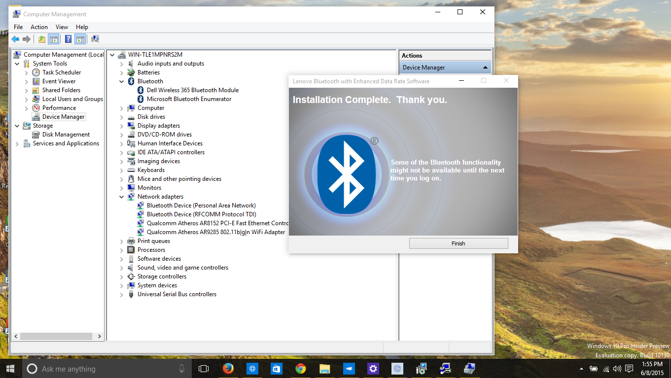 bluetooth software free download for windows 8