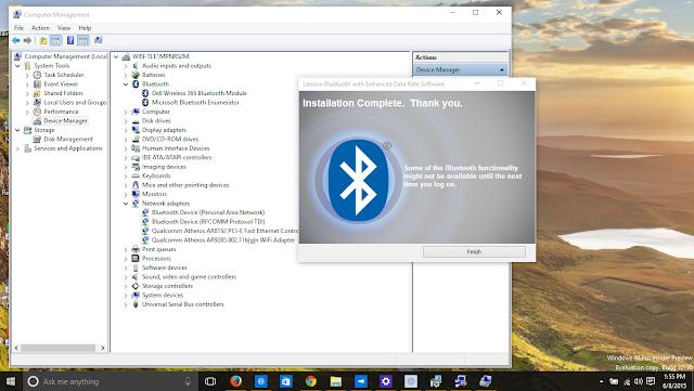 Bluetooth драйвер для windows xp lenovo