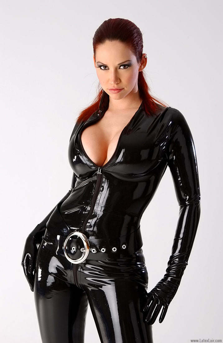latex girl