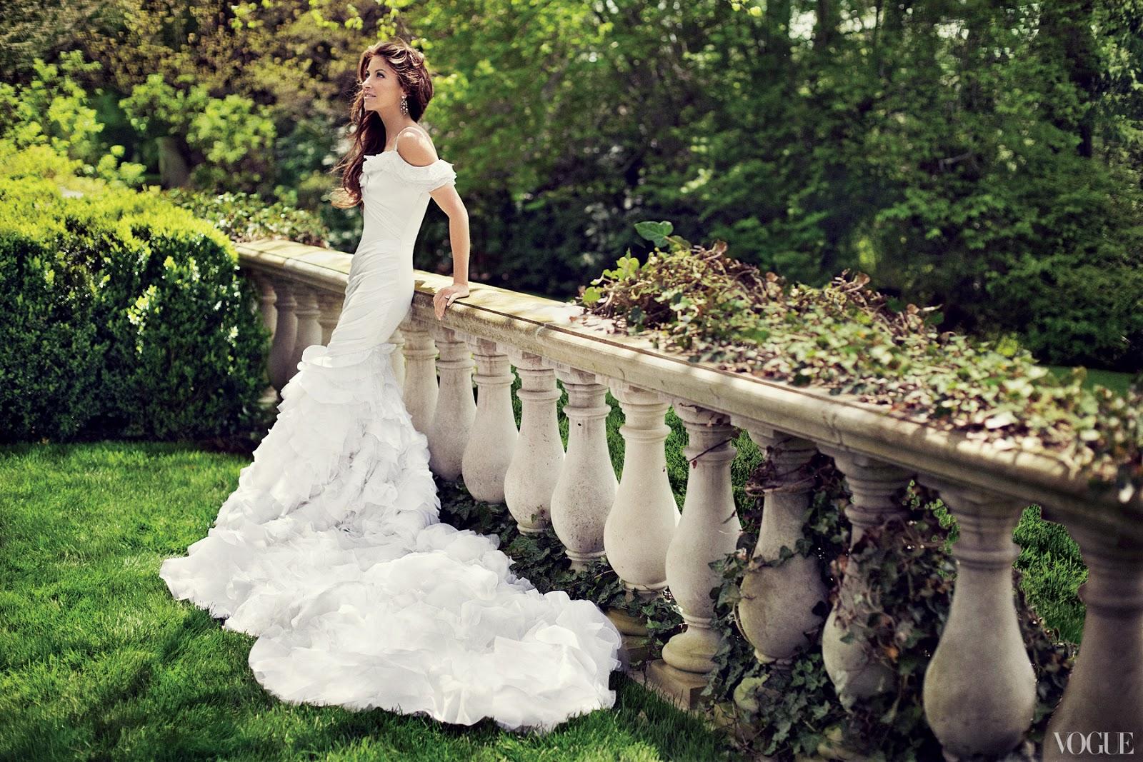 In good taste vogue weddings monday june 24 2013 junglespirit Image collections