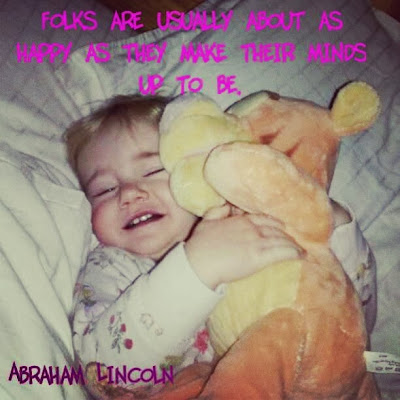 Abraham Lincoln Happiness Quote Single Mother Ahoy