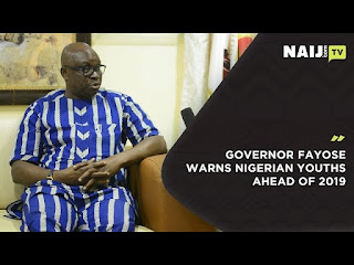 Governor Fayose commissions roads in Rivers