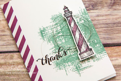 From Land To Sea Thank You Card - get the details here