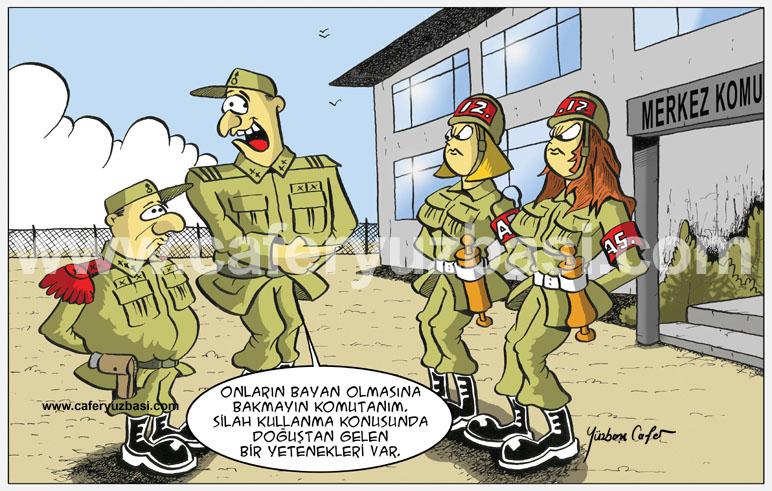 askeri inzibat-Kadinlar Asker Olursa?