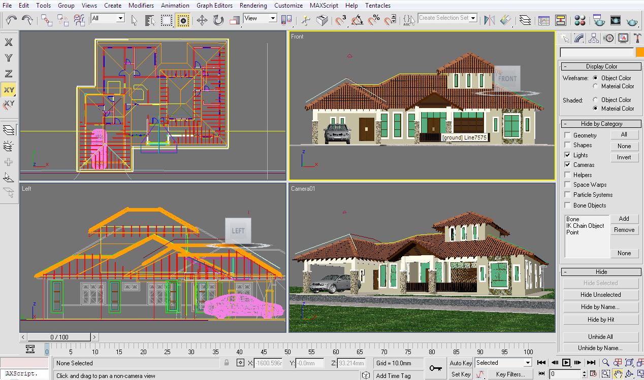 Plan Reka Bentuk Rumah Setingkat  Joy Studio Design Gallery  Best