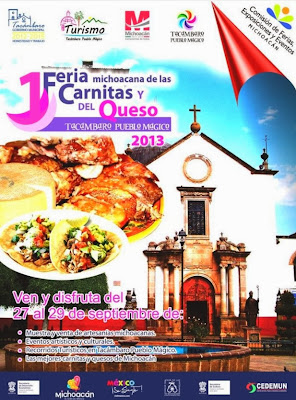 Carnitas and Cheese Fair in Tacambaro