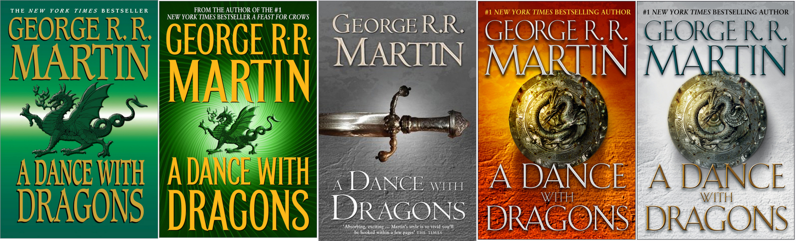 a Fantasy Reader: A Dance with Dragons review A Dance With Dragons Audiobook Cover
