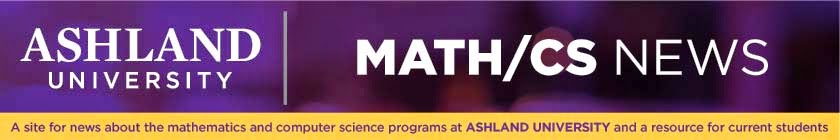 Ashland Math/CS News