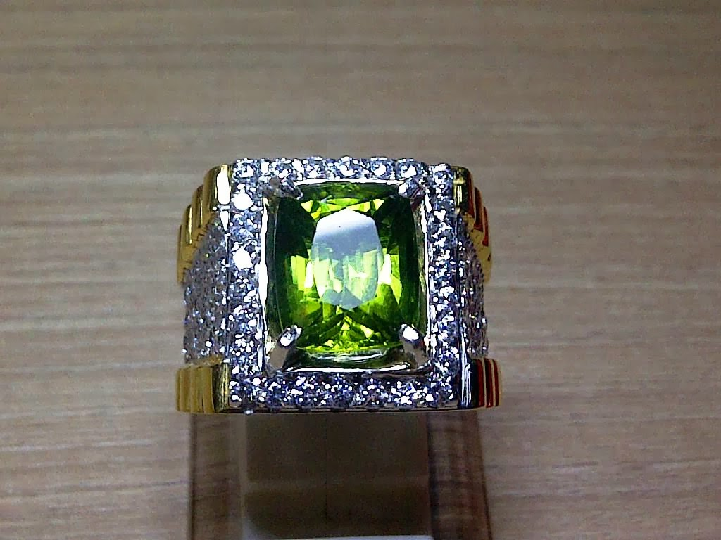 5,59ct NATURAL QUALITY PERIDOT RARE!