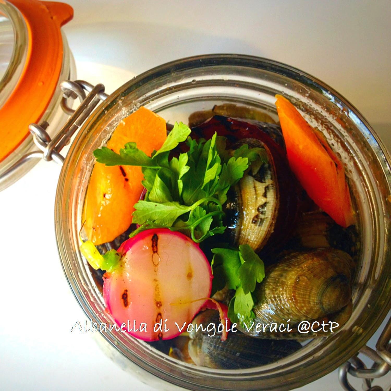 Albanella di Vongole Veraci e verdure contadine
