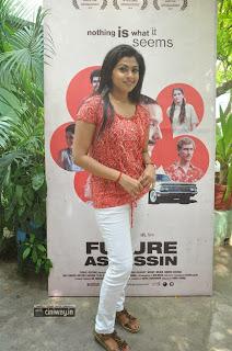 Actress-Nandana-Stills-at-Future-Assassin-Short-Film-Screening-Event