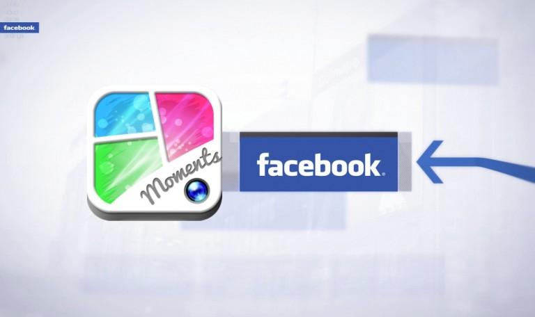 Moments, Fitur upload foto lewat aplikasi Facebook di smarthpone