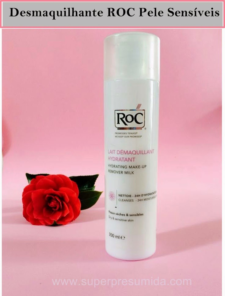 ROC - Leite desmaquilhante hidratante