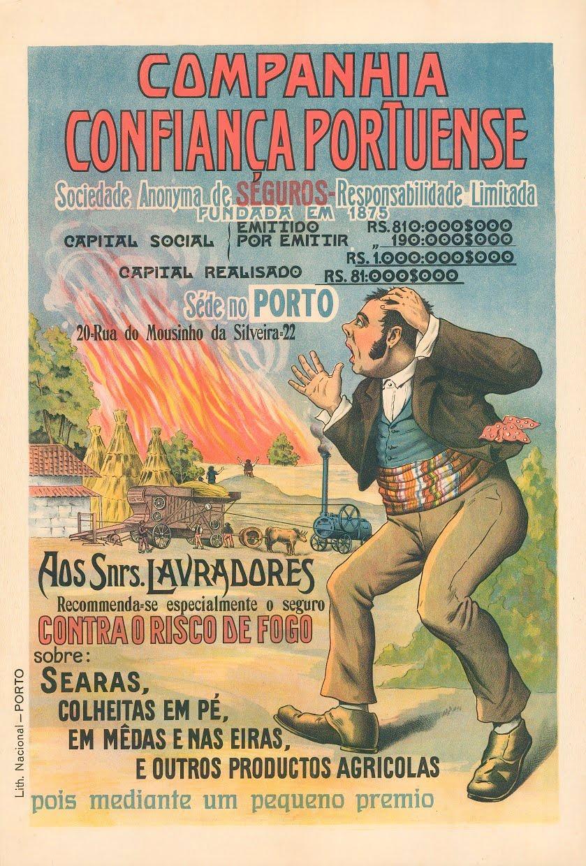 Fotografia do Mês | Cartaz da Companhia Confiança Portuense