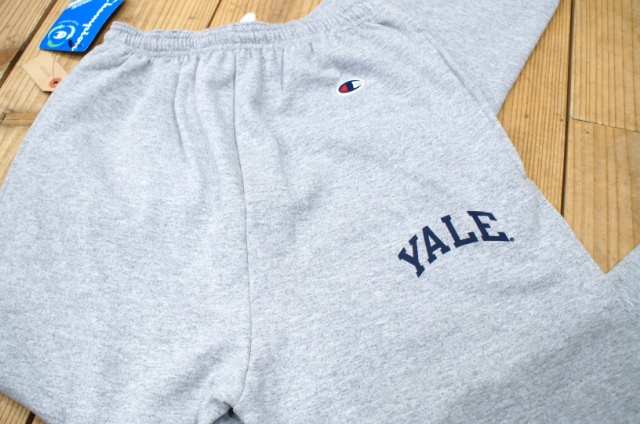 FOOBER blog: YALE / Champion スウェットパンツ
