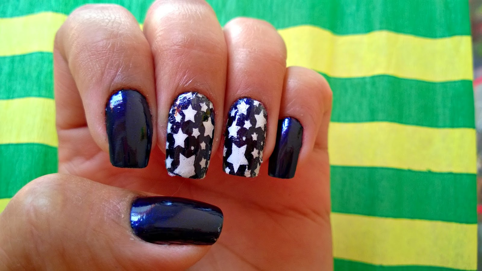 Nail Art da Vez: Mistérios do Destino + Renda Bruna Moraes