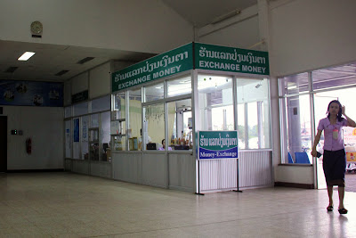 Change Currency in Pakse Airport