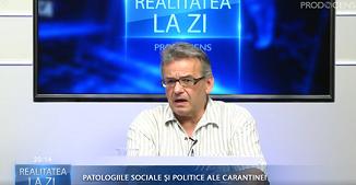 Realitatea la zi: Patologiile sociale și politice ale carantinei �� Invitat: Mihai Gheorghiu