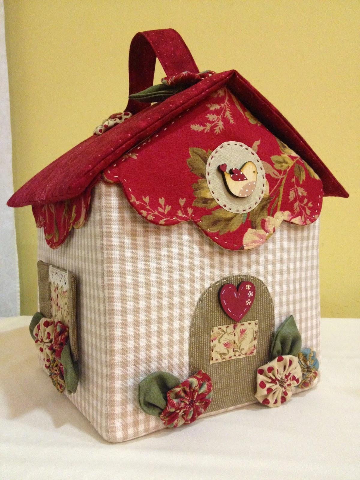El taller de l 39 agulla tornem a tenir el kit de la casa - La casita del patchwork ...