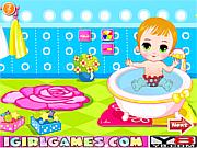 Game tắm cho em bé