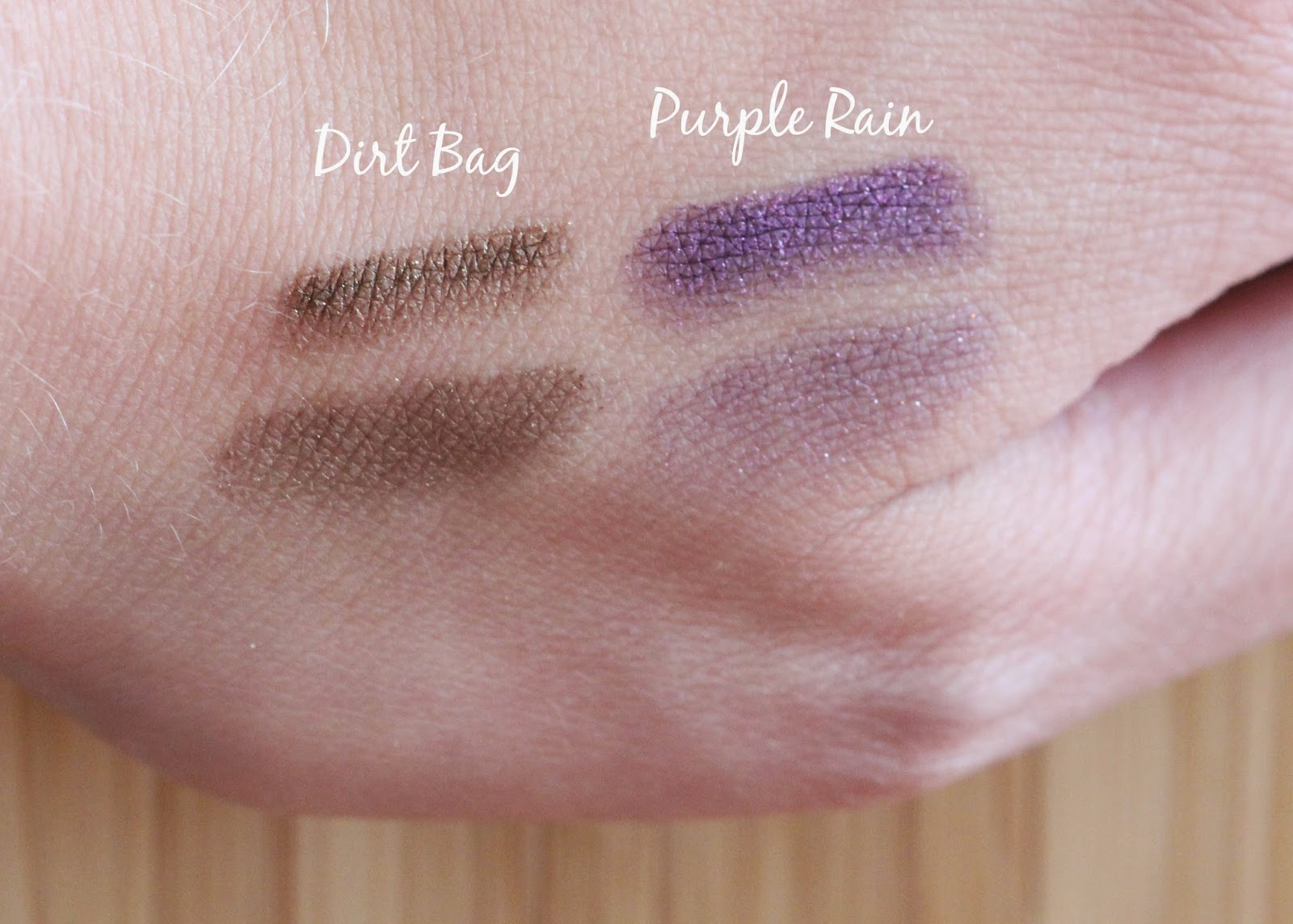 Too Faced Bulletproof 24 Hour Eyeliner swatch