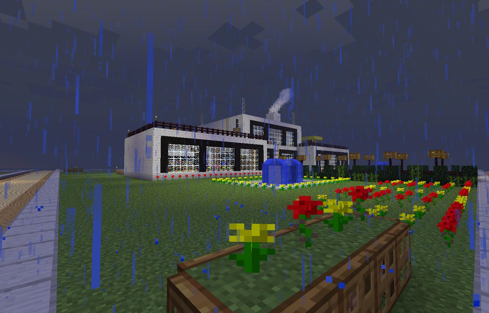Minecraftscrsh - Minecraft server wo man hauser bauen kann