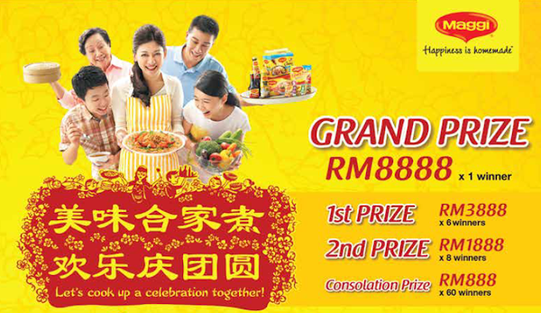 Maggi 'Lets Cook Up A Celebration Together' Contest