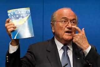 Joseph Blatter Presidente de la FIFA