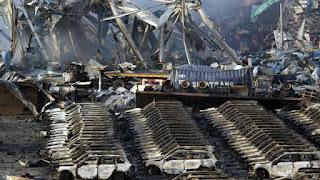 Tianjin, China explosion