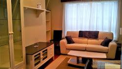 Piso amueblado de dos dormitorios en Los Rosales, garaje. 500€