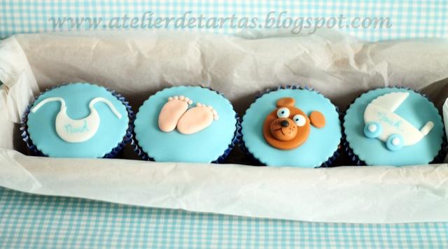 Atelier de Tartas: Cupcakes para bebés